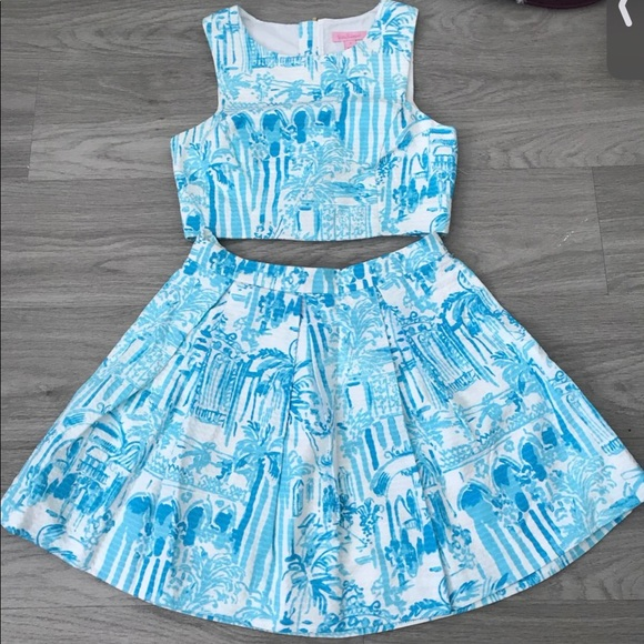 Lilly Pulitzer Melody Two Piece Set